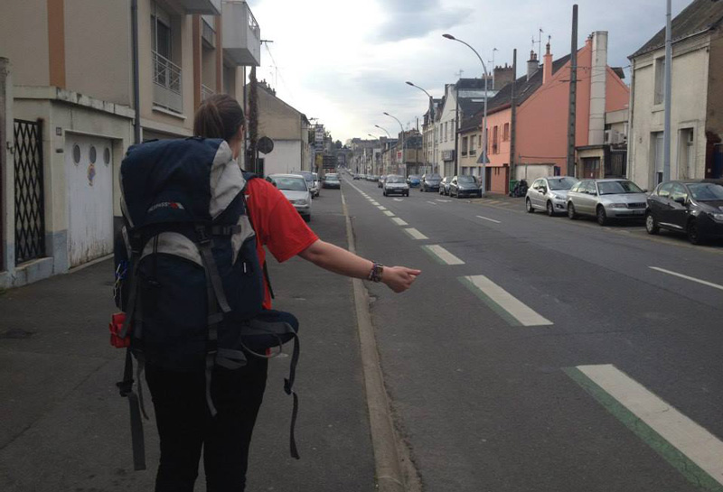 Hitchhike to Morocco