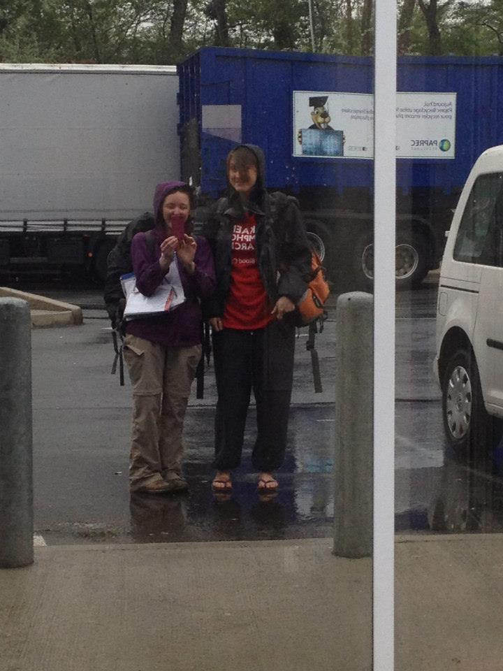 Hitchhiking London to Morocc