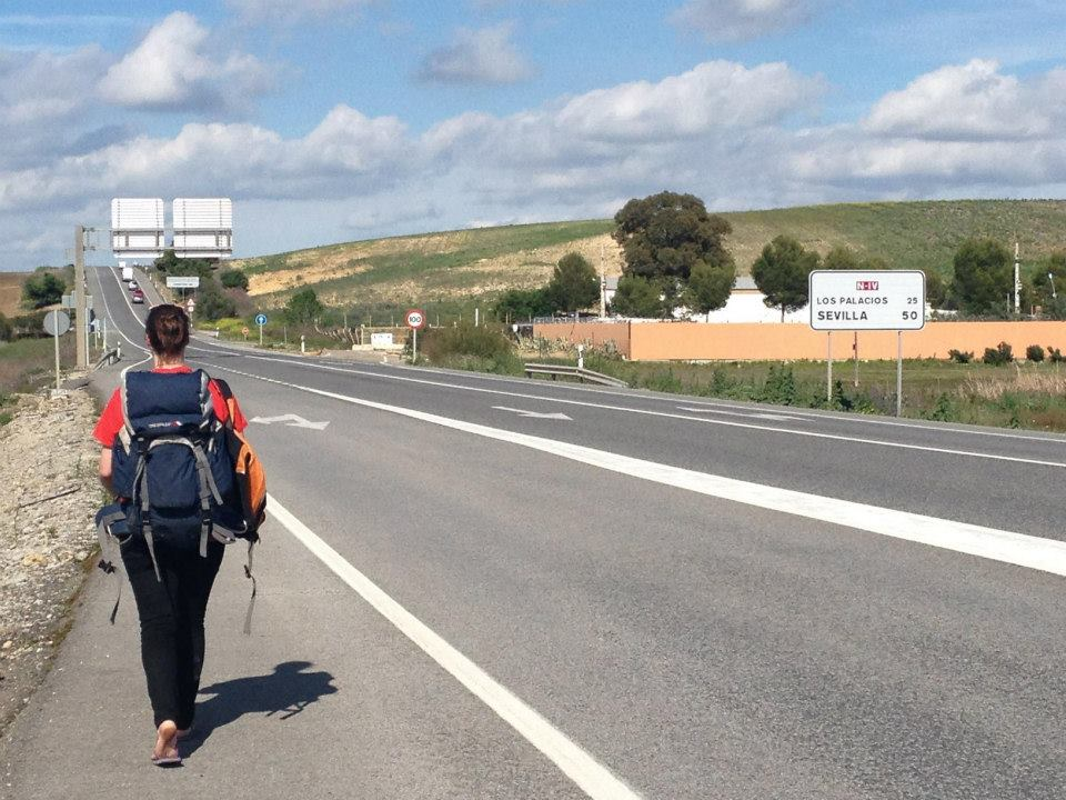 Hitchhiking from London to Morocco // Part 1