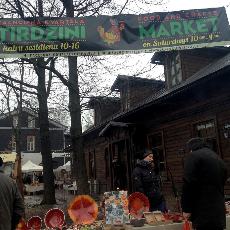 Farmers Market Riga