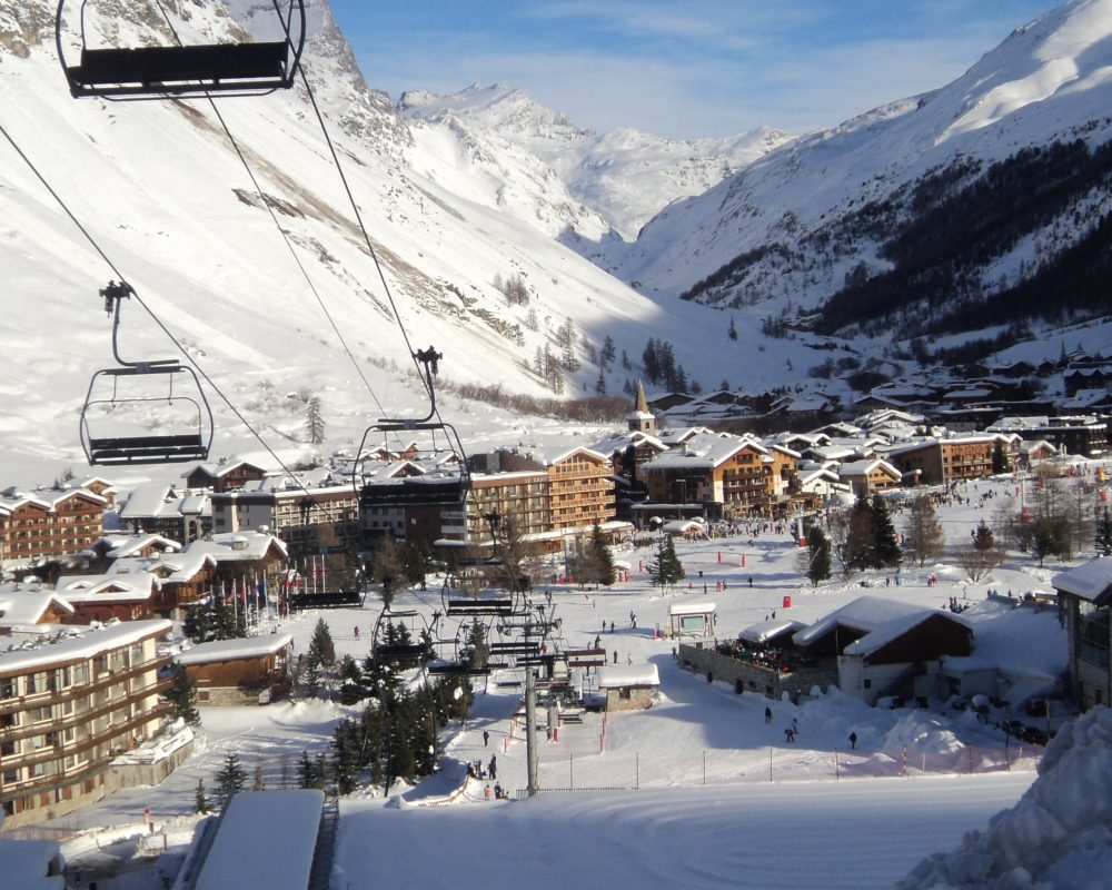 Val D'Isere French Alps Working a ski season