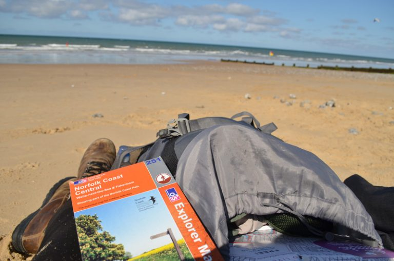 Sleeping in sand dunes – A Norfolk Summer Microadventure