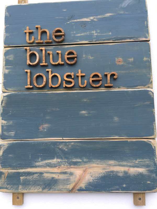 Blue Lobster Cafe Stornoway, Isle of Lewis