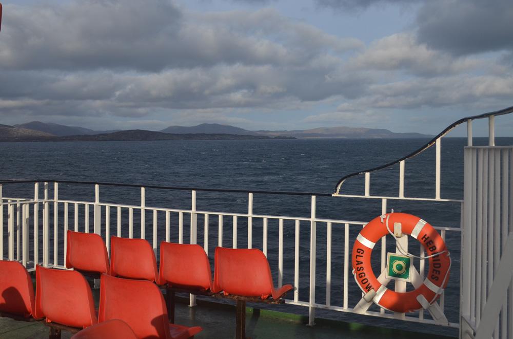 Calmac Ferry to the Isle of Harris