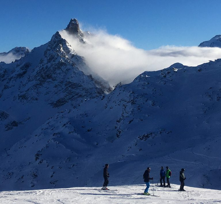 A winter season in the French Alps: The first 6 weeks