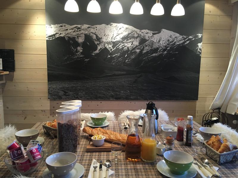 Breakfast at The Chalet Company, Meribel