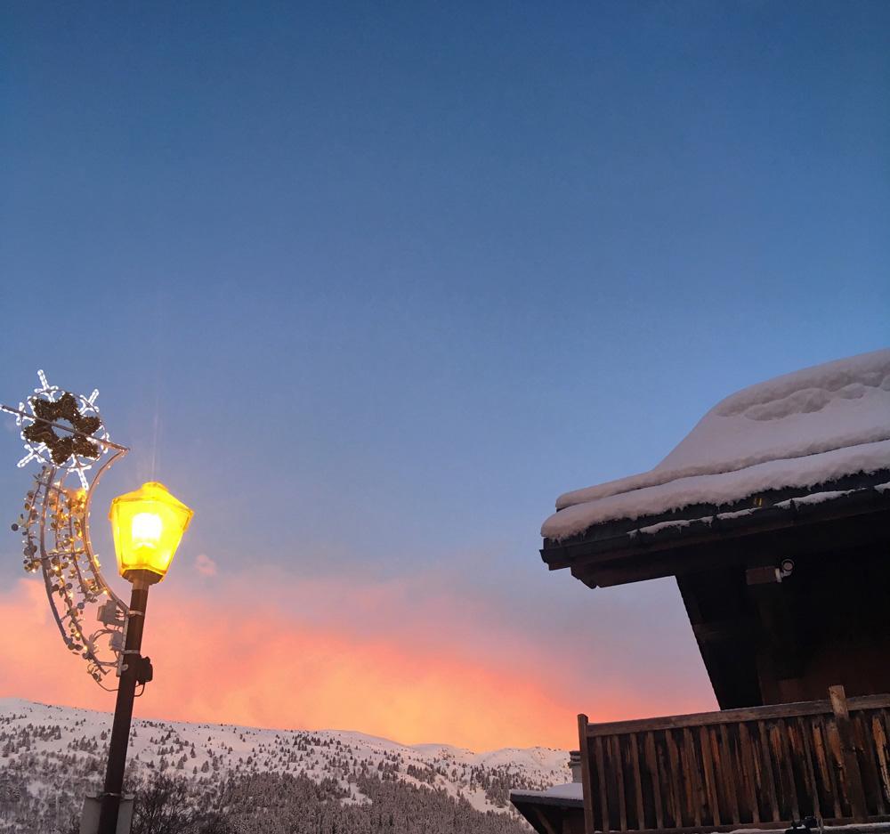 Sunrise Meribel