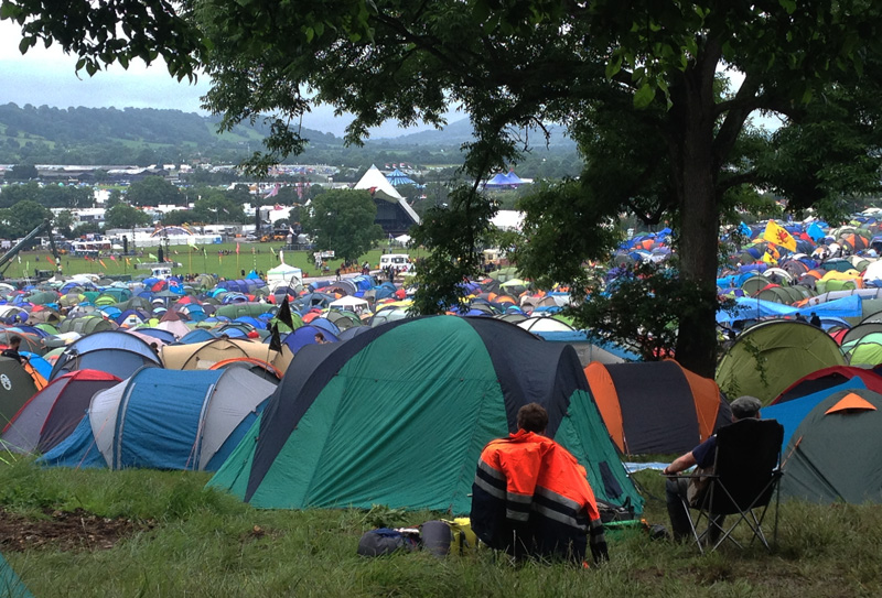 GlastonburyCamping