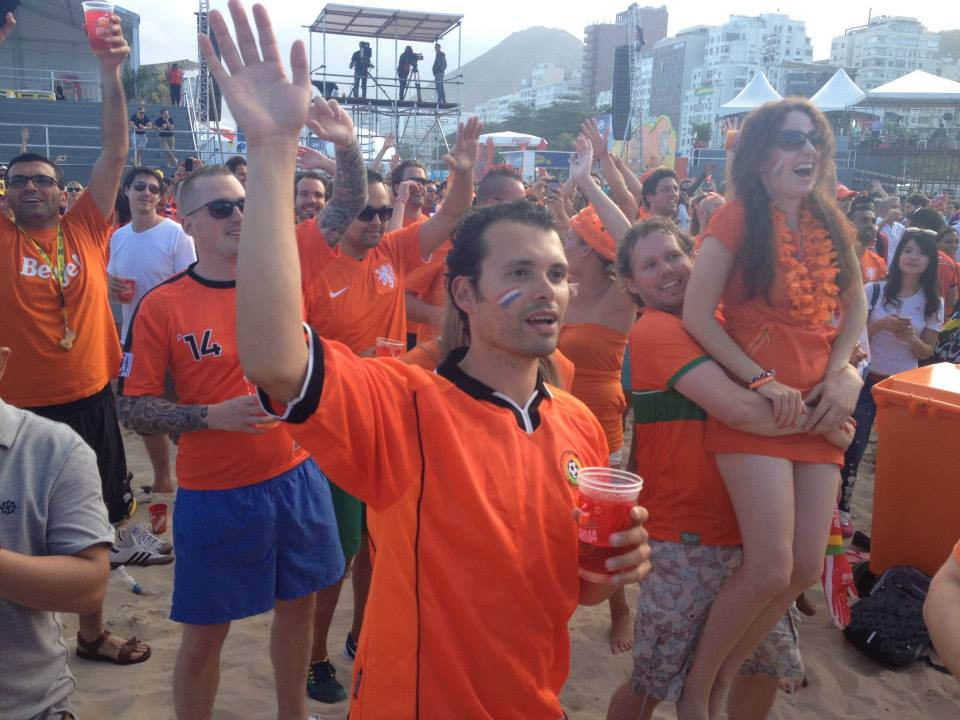 Dutch Fans at World Cup 2014
