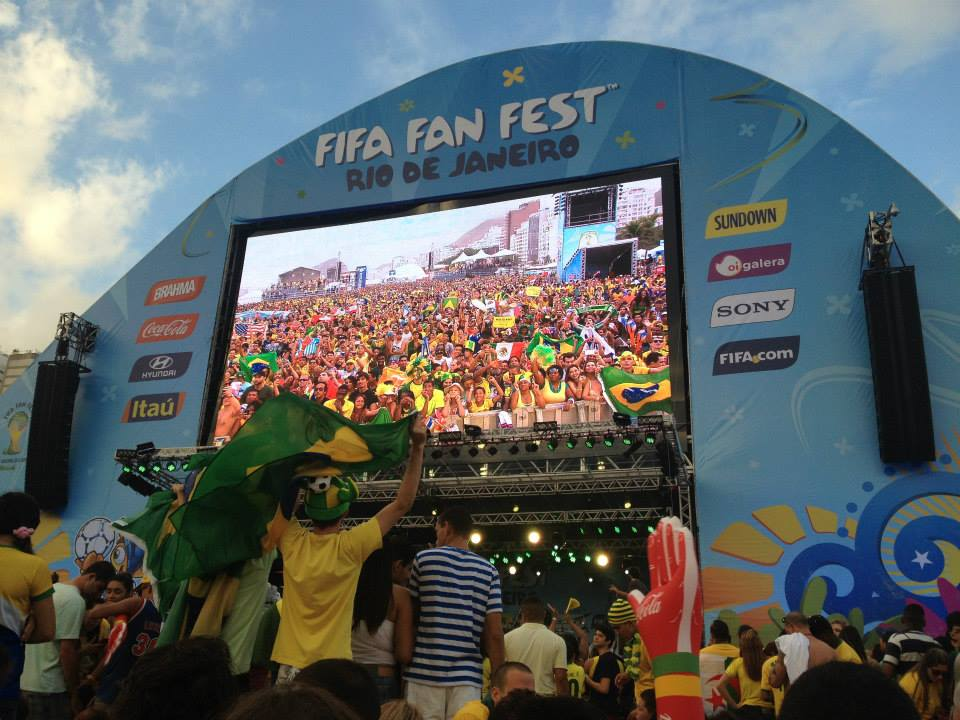 Fan Fest at World Cup 2014