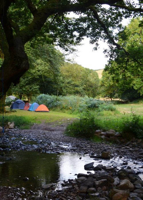 Pool Bridge Campsite Exmoor