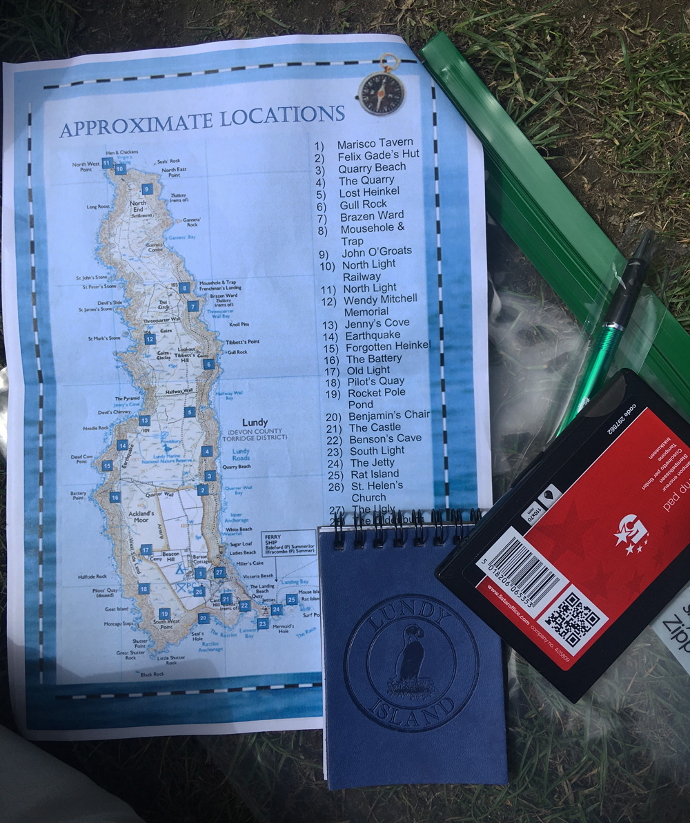 Lundy Island Letterboxing