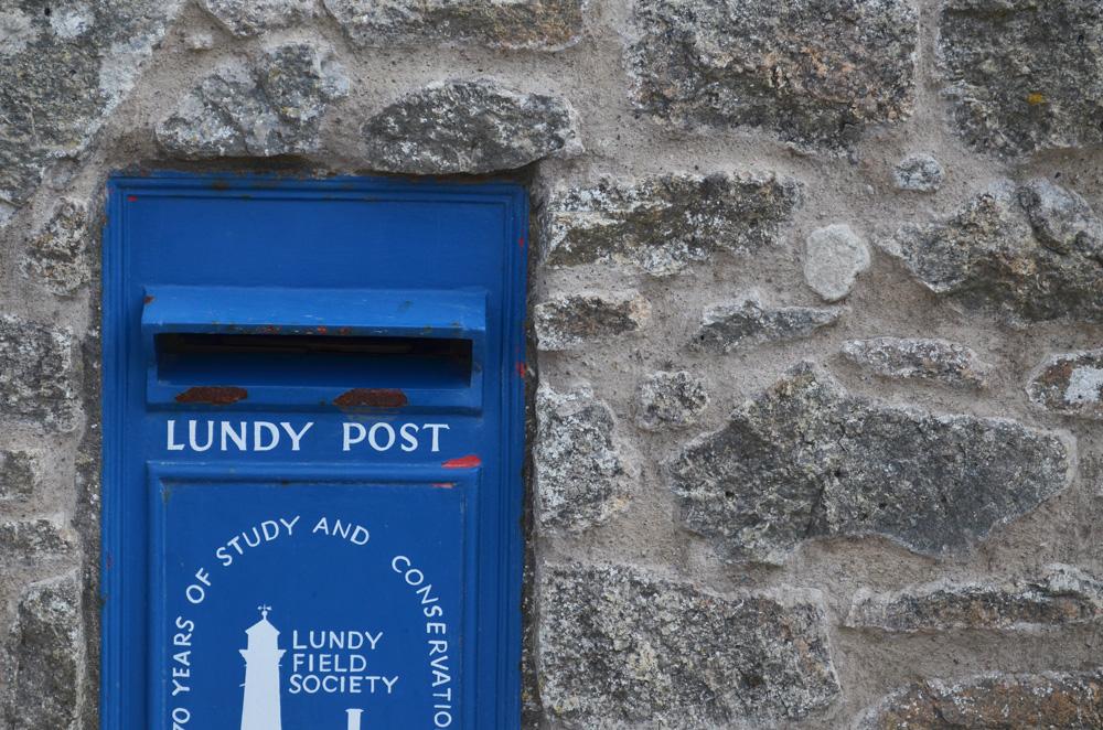 Lundy Island Post Box