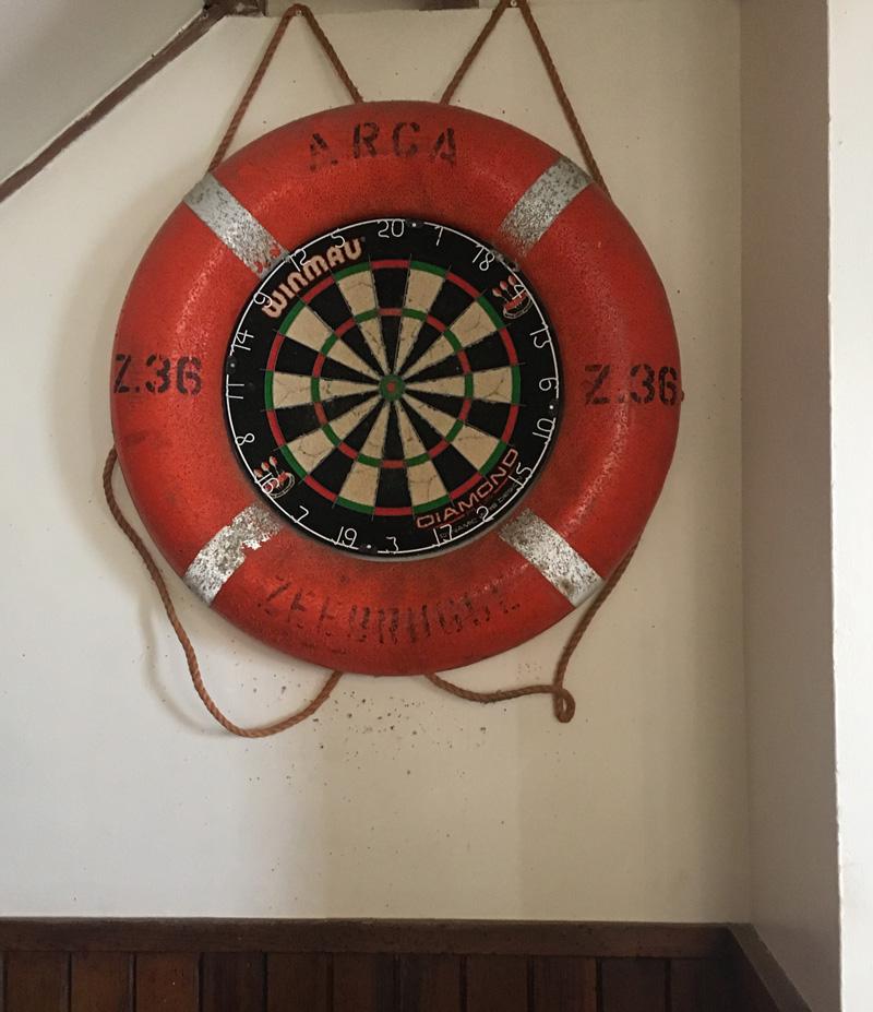 Lundy Pub Dartboard