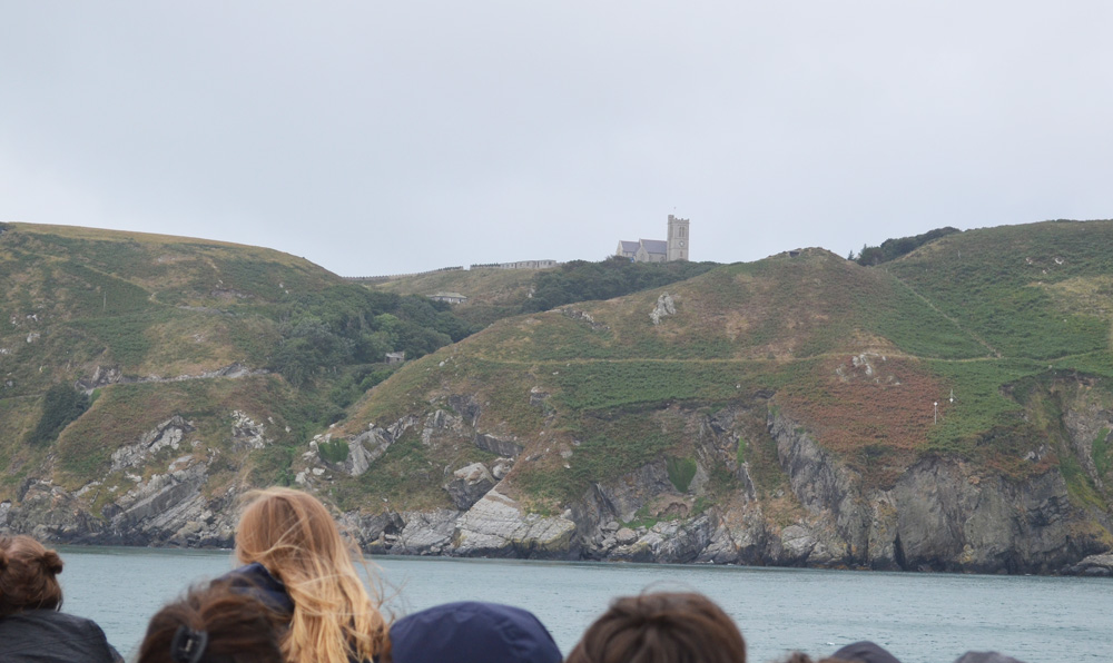 First View of Lundy Island