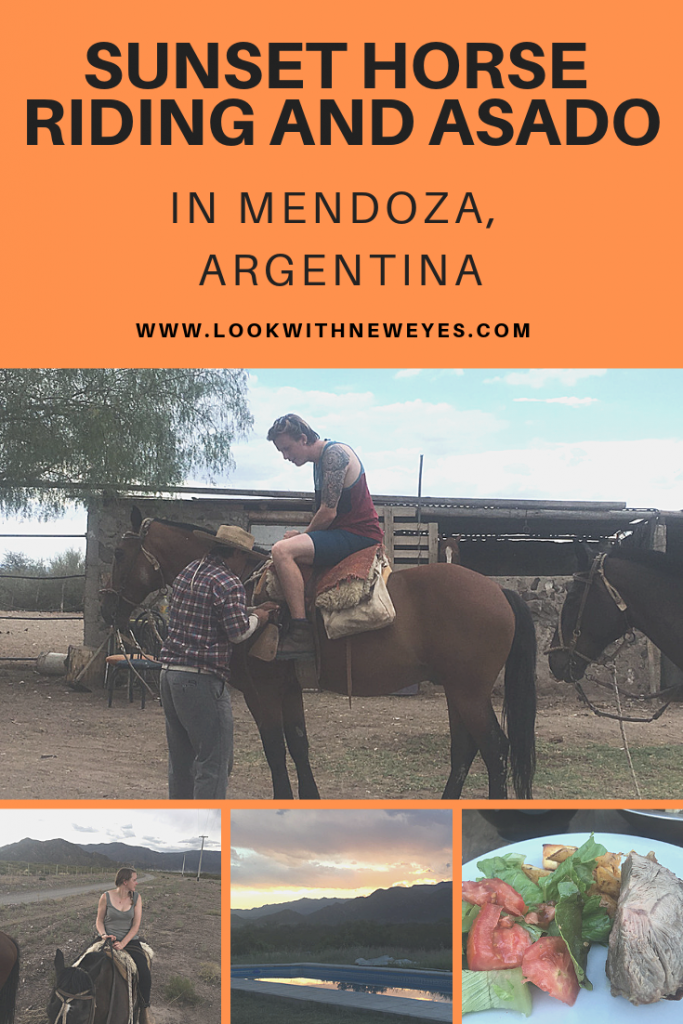 Sunset Horse Riding and Asado in Mendoza, Argentina
