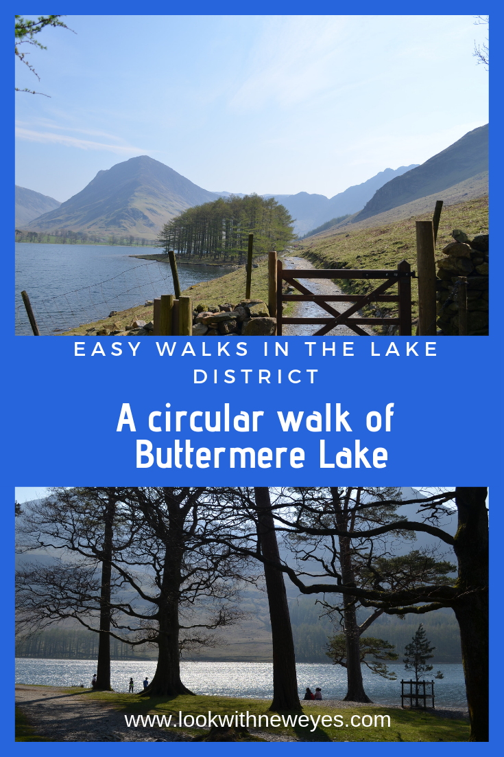 Easy Walks in the Lake District - A circular walk of Buttermere Lake