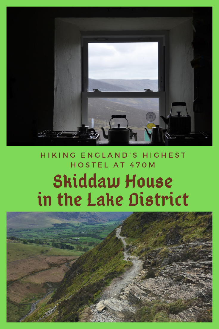Hiking to England's highest hostel - a night at Skiddaw House Hostel