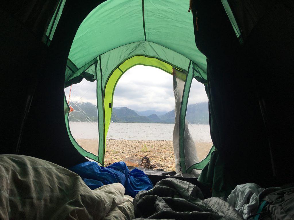 Wild Camping Derwentwater