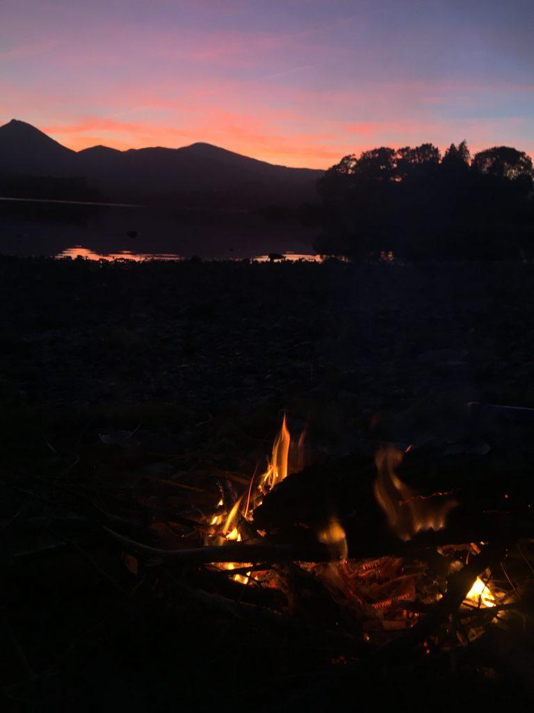 Derwentwater Fire