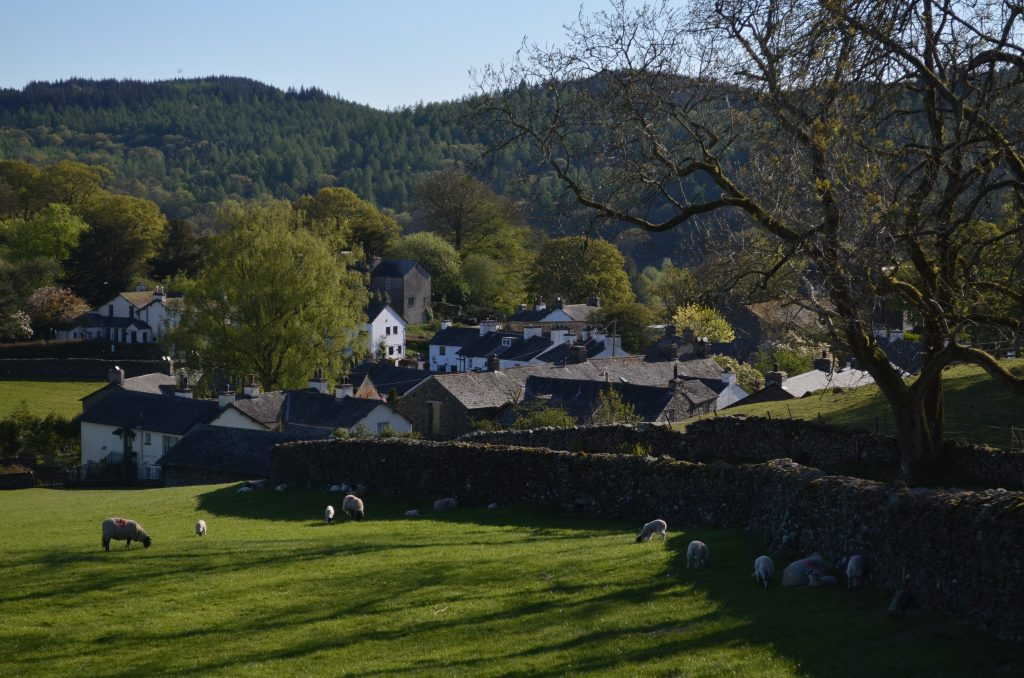 Near Sawrey, Lake District