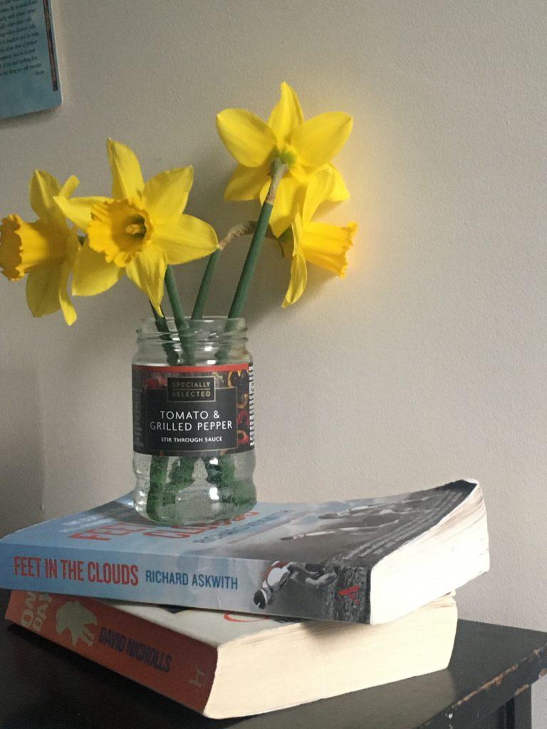 Daffodils on desk