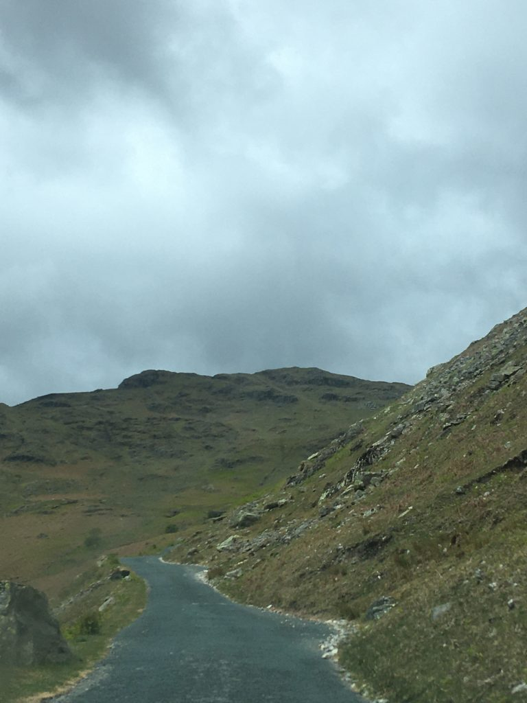 Wrynose Pass Lake District