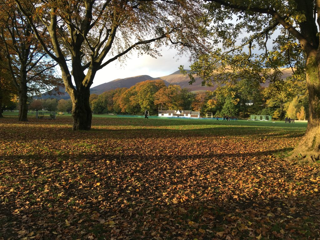 Fitz Park Keswick Lake District Running