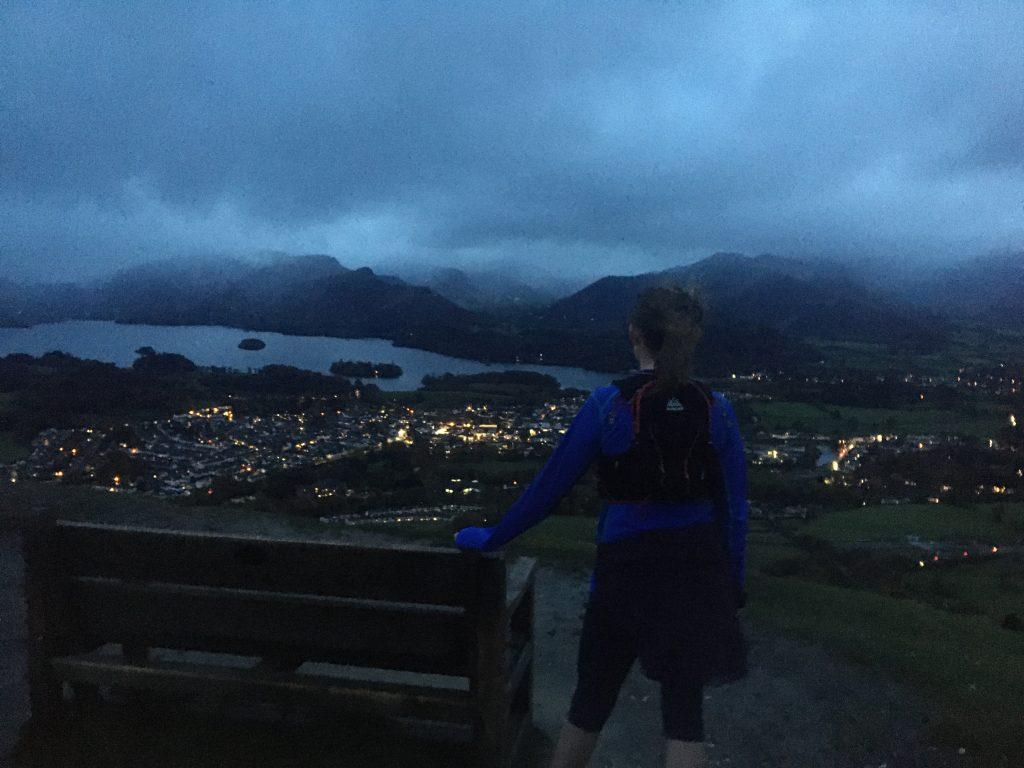 Latrigg Night Running
