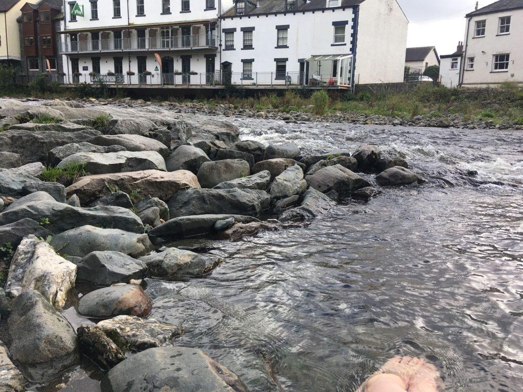 River paddles