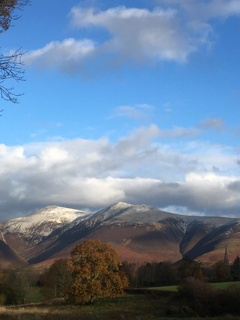 Skiddaw Winter Lake District