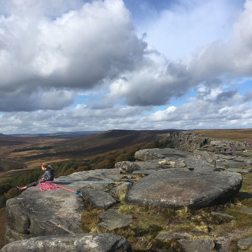 Stanage Edge Peak District