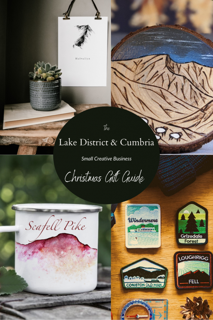 The Lake District & Cumbria Small Creative Business Christmas Gift Guide 2020