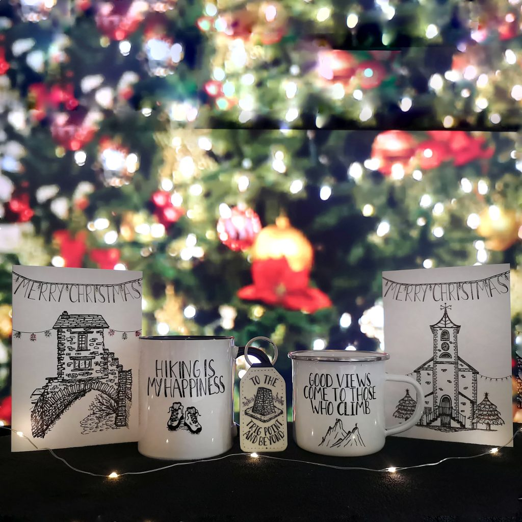 The Lake District & Cumbria Small Creative Business Christmas Gift Guide 2020 - Han Drawn Designs