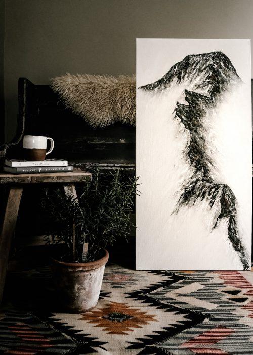 Feather & WIld Artwork Lake District