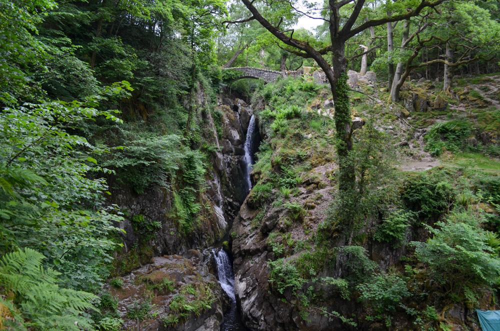 Aira Force Waterfall Near Ullswater