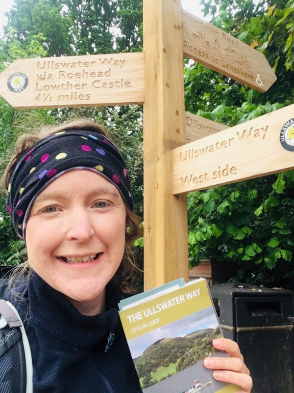 Setting off on the Ullswater Way