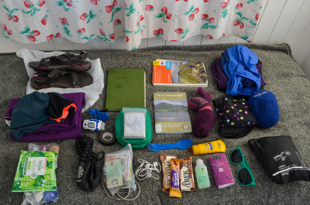 Packing List for Ullswater Day